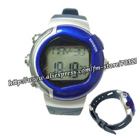 10pcs/lot Calorie Monitor Stop Watch Pulse Counter Heart Rate watch !