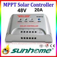 fast shipping,48V,20A,solar controller MPPT30,solar mppt controller,CE,RoHS panel charge controller