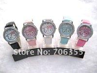 Fashion HelloKitty Watch Wrist watch Quartz watch Women Watch  for Female 10pcs