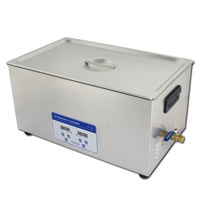 ultrasound sonicator bath for automotive parts cleaning 22liter, digital panel control with 1 year warranty