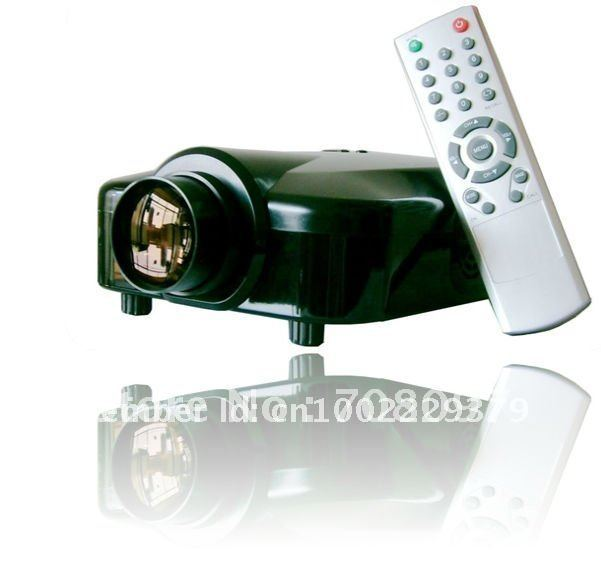 cheap mini projector witn HDMI TV tuner China manufacture sell directly most competitive price(China (Mainland))