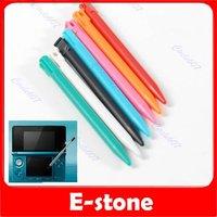 D19100 Pcs/lot Plastic Candy Color Touchpen Stylus Pen for Nintendo 3DS  Free Shipping
