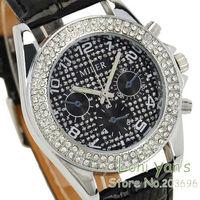 5pcs/lot Women's Crystal Ladies Watch Quartz Wristwatch Mixed Color