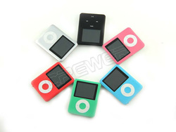 "8GB Slim 1.8""LCD mp3 player Radio FM Player+Free Ship&Gift(China (Mainland))"