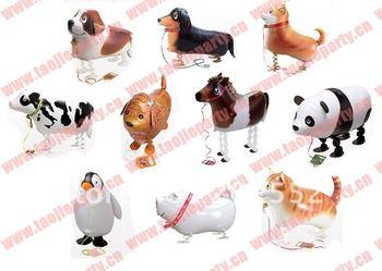 Walking pet balloons chicken,animal balloons
