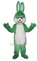 green rabbit Mascot Costume //animal costume mascot /cartoon character costumes party dress fancy costumes custom mascot made