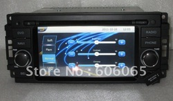 NEW Chrysler Sebring Car dvd player with Built-in GPS, bluetooth, IPOD,STEERING WHEEL CONTROL(China (Mainland))