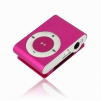 Wonderful mini Clip MP3 Player  as gift Cheapest price 50PC/Lot China Post free shipping