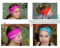 Free Shipping! Custom Imprint Waterproof Neoprene Kids/Adults Swimming Earband Headband Ear Protector Ear Warmer Aqua Earbands