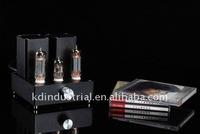 (miniwatt N3)Small Mini Tube Integrated AMP HIFI Audio Amplifier EL84+12AX7B New