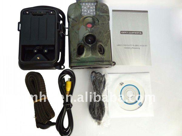 1280* 720 resolutie, hercoderen camera met audio ir spel en fins noorse m330m taal