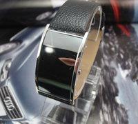 Wholesale digital women wristwatches ladies fashion Led Leather strap quartz watch Women dress watches men w1