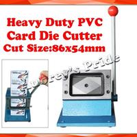 NEW Heavy Duty 3-3/8x2-1/8In(86x54mm) ID Busines Criedit PVC Paper Card Rounder Corner Punch Die Cutter