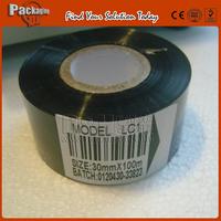 High quanlity Black Ribbon 30*100M for Ribbon Coding Machine,20000 times printer