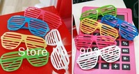 wholesale 10pcs Guaranteed 100% Common Adult Christmas Funny spectacles geek Glasses items masquerade party + free shipping
