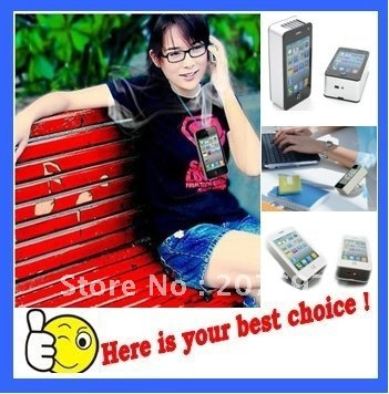 new fashion Summer essential - Mini Pocket Air Conditioner / USB air conditioning fan 1PCS/LOT Free shipping(China (Mainland))