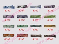 "Free shipping!wholesale 580pcs Girl Boutique 1.78"" Lined Alligator Clip lined clip Lined Hair Clips"
