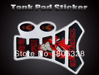 MOTORCYCLE MOTOGRAFIX TANKPAD TANK STICKERS DEVIL(trust it) TA009