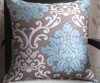 #225 Europe jacquard  pillow/cushion cover freeshipping wholesale promotion 2pcs/lot