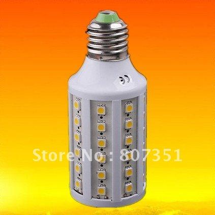 HOT SELL 10pcs E27 E14 B22 14Watt 60 SMD LEDS LEB LIGHT BULB 110V 120V LED CORN SPOTLIGHT(China (Mainland))
