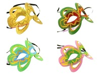 Hallowmas Venetian Masquerade 4 Color Butterfly Fashion MASKS Dance Party MASK Free Shipping 50 PCS