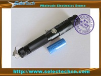 Free shipping 1000mw High power adjustable focus 532nm Green laser pointer pen with key switch (NEW)SE-BG-0018B