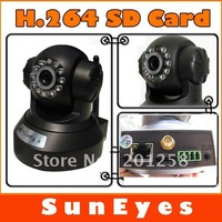 SunEyes  H.264 Wireless IP Camera Wifi Network CCTV Camera support  TF /Mircro SD Card IR CUT SP-H01W