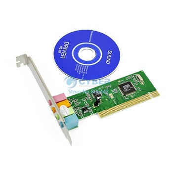PC 4 Channel MIDI GAME port 3D Audio PCI Sound Card, Dual Type-F DMA Support Retail & Wholesale