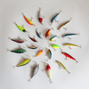 Mix 23pcs Fishing Lures Baites Minnow Crank