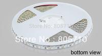 5m/reel 120pcs/m SMD3528 Non-waterproof SMD3528 LED flexible Strip 5m/reel, R/G/B/Y/WarmWhite, Cold White optional,  white PCB