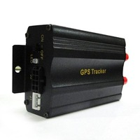 1pcs/lot vehicle gps tracker with sms,gsm,gps,gprs free shipping, black