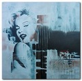 Hotel Pictures Andy Warhol Marilyn Monroe Portrait Prints on canvas American actress female star American sex 003 12x12""