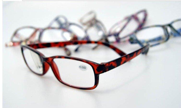 (20pcs/lot) Colorful reading glasses/plastic reading glasses/fashion reading glasses accept mixed order(China (Mainland))