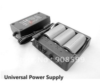 FeiLong Uiversal Lithium Battery Charger 3.2V LifePO4 & 3.7V Li-ion Battery Charger 3xC 26650 3xD 32600 32650 6x18650 Charger