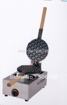 Buy machine get 6 gift !!! Free shipping  gas type  egg waffle maker  gas waffle machine
