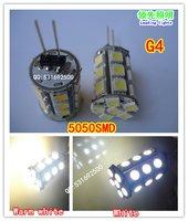 4 x G4 4.8W led bulb, 24pcs 5050SMD led corn light,  reading lights, 12V crystal light source, free shipping