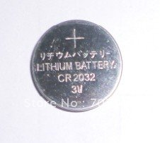 FEDEX Free shipping wholesale 3000pcs/lot Lithium 3V Button Cell / Coin Cell Battery CR2032(Hong Kong)