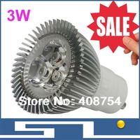 Sale!!3W LED bulb,GU10/MR16/E27 base,WW/NW/CW, 300LM Spotlight,Energy saving LED downlight, free shipping, 20pcs/lot