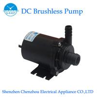 CP40-1260,DC Brushless pump,Submersible pump,Solar water pump,12V Mini pump(12V/960mA,6M,460LPH,Color Black)