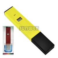 New Arrival Digital PH Meter Tester Pocket Pen Aquarium Pool Water free shipping wholesale B16 1072