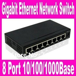 TH-1008G 8 Port 10/100/1000Base Gigabit Ethernet Network Switch high performance Smart Gigabit Switch 8 Port Switch FreeShipping(China (Mainland))