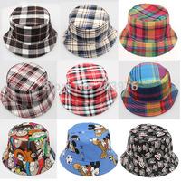 12 designs Hot sale travel outside children boy cap hat  summer hat canvas 10pcs/lot