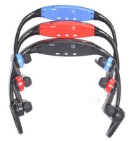 Hands free Sport MP3 player with TF card slot, Red,Blue,Black,earphone mp3 headset MP3 PLAYER