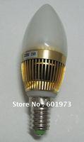 E14 LED Globe hot sell R. G. B 3W LED candlebra bulb