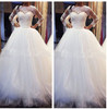 On Sale Ivory Taffeta Best Selling Ball Gown Wedding Gowns and Bridal Dress 2013(China (Mainland))