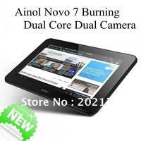 In Stock !  Pre-Sale Ainol novo 7 Burning(Flame) IPS Screen Dual Core Dual Cameras 1GB 16GB Tablet PC Send TF 8G EMS.DHL.FedEx