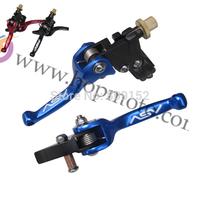 ASV clutch and brake folding lever for dirt bike/pit bike spare parts