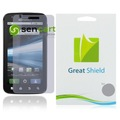 50pcs/lot Clear LCD Screen Protector Motorola Atrix 4G MB860