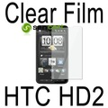 50pcs/lot LCD Screen Protector Guard For HTC HD2 HD