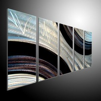 Contemporary Wall Art. Modern Painting on Metal by zxlei  art wall, Abstract Art METAL WALL SCULPTURE ART